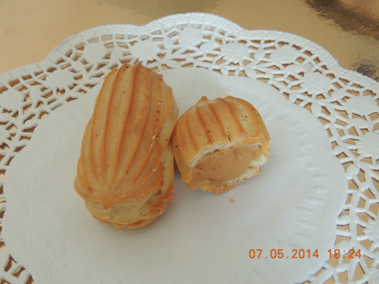 Эклеры с варёной сгущёнкой рецепт пошагово