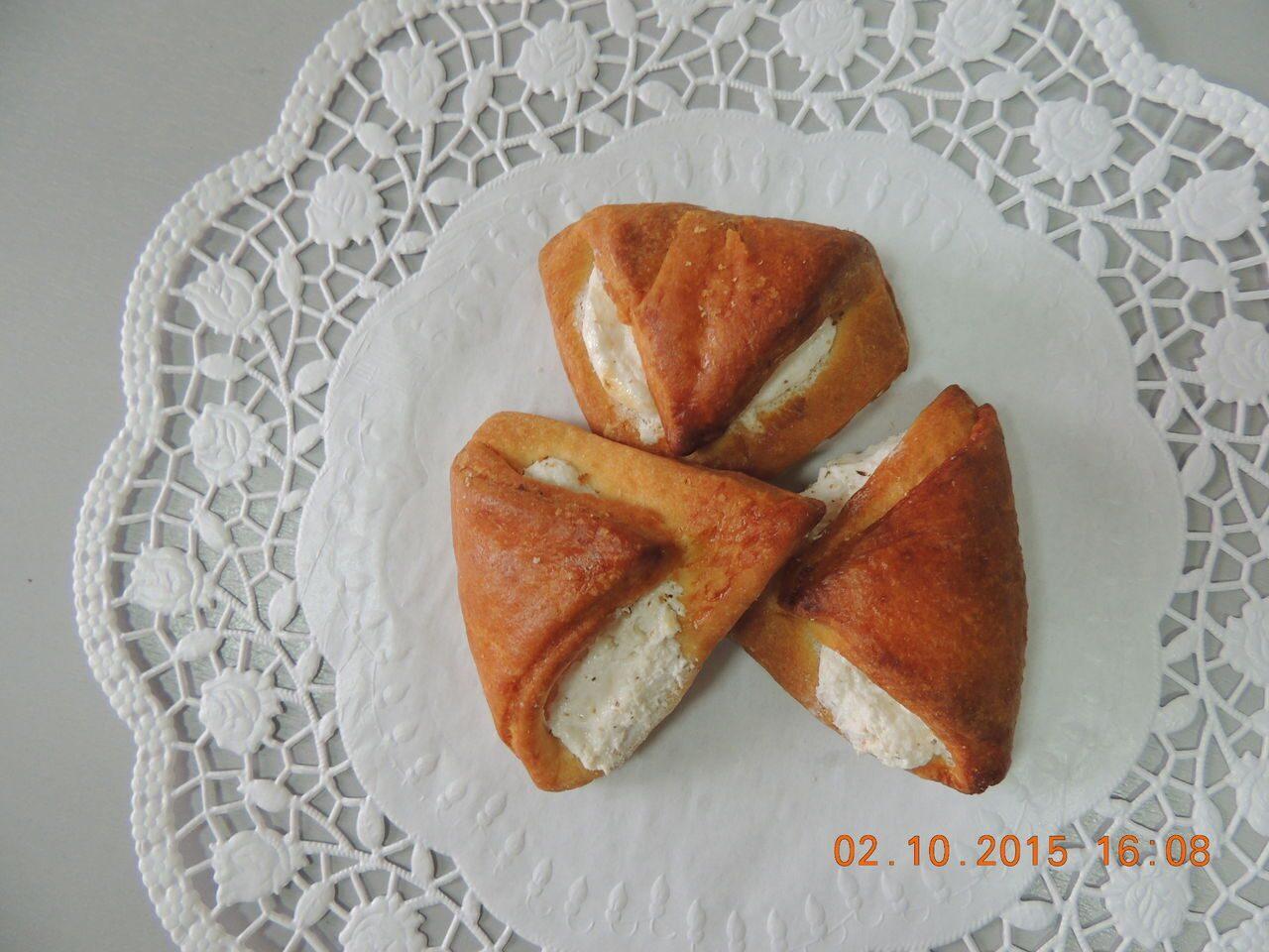 Печенье из слоеного теста с изюмом рецепт